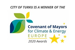 covenant awards logo winner turku